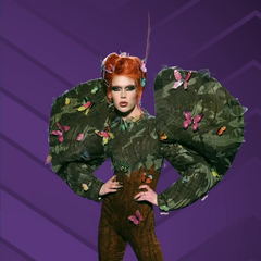 Camo Couture Look