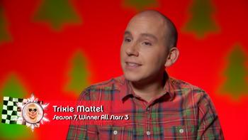 Trixie Mattel (Xmas) confessional