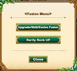 Fusion tab