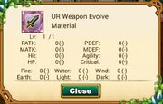 Ur weapon