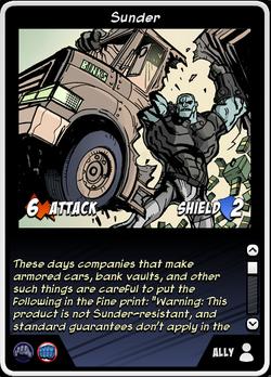 Sunder (card)