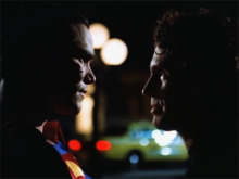 Lex and Superman confrontation