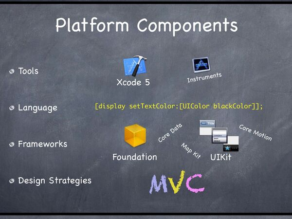 Ios platformcomponents