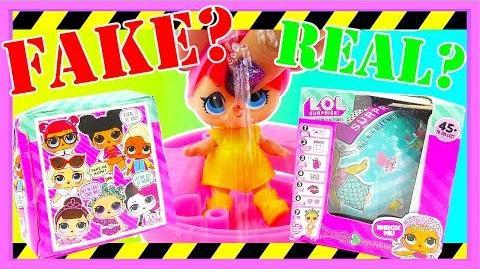 FAKE LOL Dolls ⚠️WARNING⚠️ FAKE VS REAL