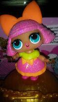 Glitter queen toy