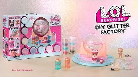 Video Lol Surprise Diy Glitter Factory Commercial Lol