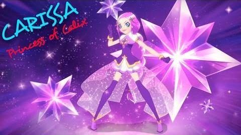 Carissa - Princess of Calix! Princess Transformation LoliRock
