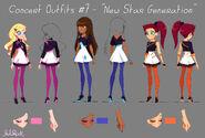 Концертные костюмы - new star generation