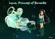 Lyna princess of Borealis