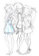 The creation of lolirock - finalizing main characters4