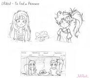 Poszukiwanie księżniczki - projekt (1)