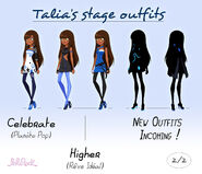 Talia's Stage Outfits (2)