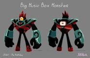 Образец модели Большого Монстра Музыкальной шкатулки