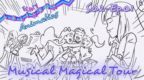 LR201 Magical Musical Tour ANIMATIC