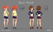 Образец моделей подруг Мисси