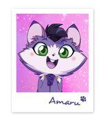 Постер с Амару