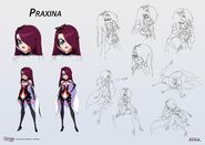 Praxina concept art