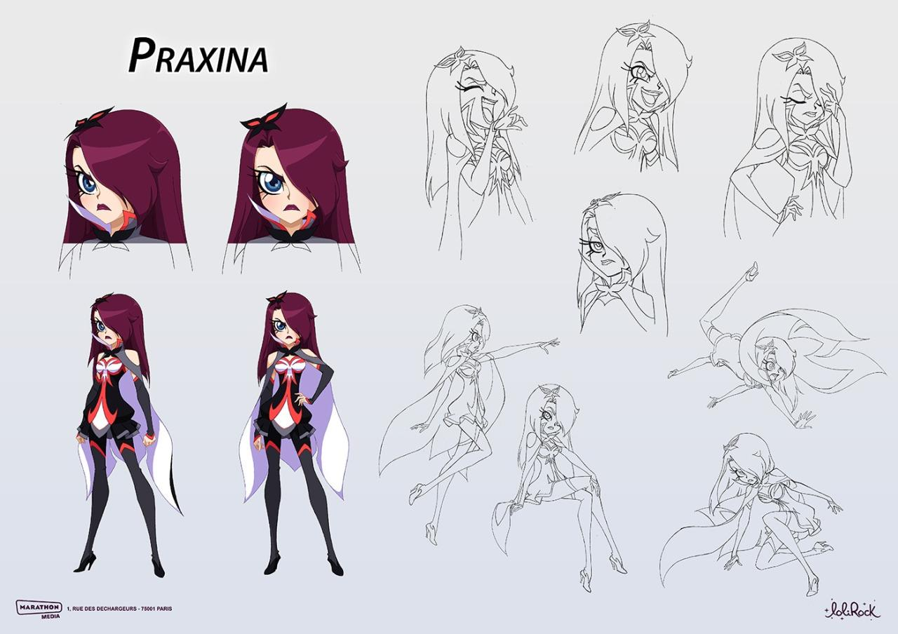 Praxina | Lolirock Wiki | FANDOM powered by Wikia