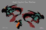 Образец модели Морского Монстра из Тёмного Кристалла