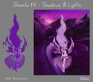 Iris' Shanila Model Sheet, Posings and FX Sheet2
