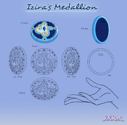 Modelsheet of Izira's Medallion