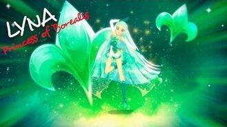 Lyna - Princess of Borealis! Princess Transformation LoliRock