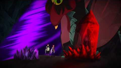 Un Dragon Monte la Garde Lolirock
