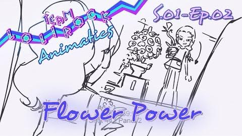 LR102 Flower Power ANIMATIC