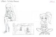 Poszukiwanie księżniczki - projekt (2)
