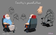 Образец модели дедушки Тимоти