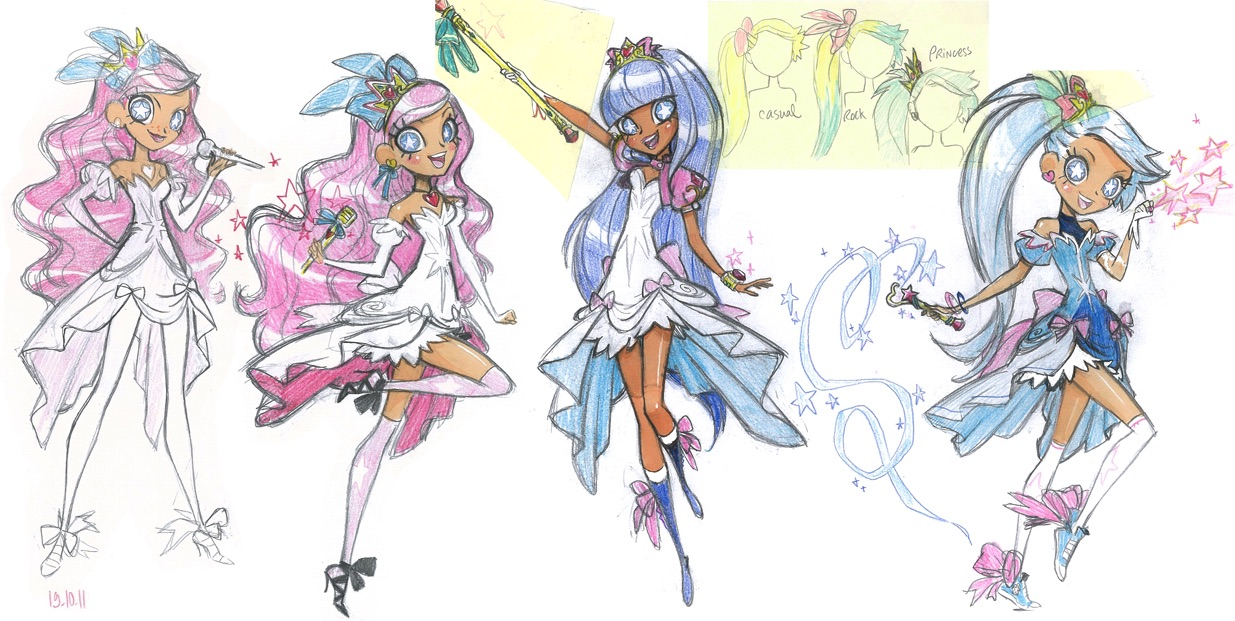 Lolirock Lyna Coloring Pages T And A Info