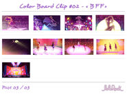 "Colorboard for ""BFF""3"