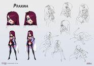Praxina - concept