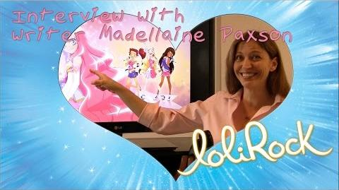 Interview with Writer Madellaine Paxson Behind the Scenes LoliRock