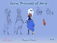 Izira, Princess of Xeris - Magical Dress - (page 2 of 2)