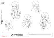 Concept art Talia, princess of Xeris3