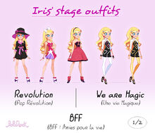 Iris stage outfits - 1
