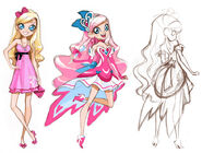 The creation of lolirock - magical3