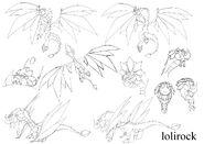 Производственные рисунки Дракона