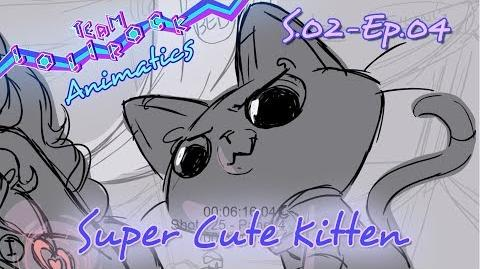 LR204 Super Cute Kitten ANIMATIC
