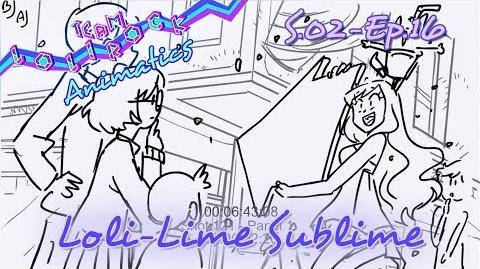 LR216 Loli Lime Sublime ANIMATIC
