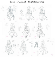 Lyna magical- First version