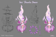 Iris' Shanila Model Sheet, Posings and FX Sheet1