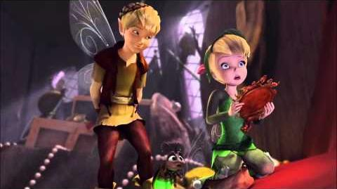 Tinkerbell and Terence Whydon'tYouKissHer