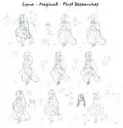 Лина - Волшебная - Первые исследования