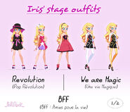 Iris' Stage Outfits (1)