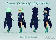 Lyna Resistance Cloak