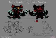 Образец модели Игрушечного Монстра из Чёрного Кристалла