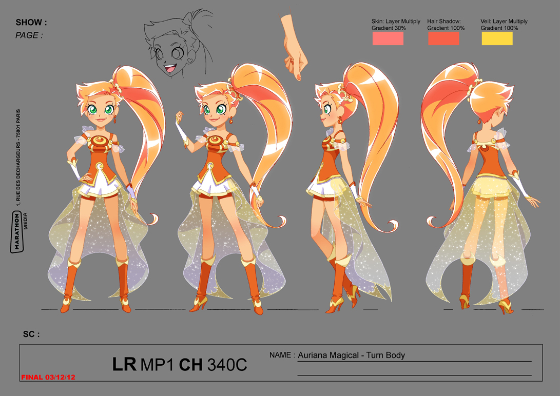 how to draw iris from lolirock