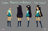 Lyna, Princess of Borealis (Posings & Turns)-2